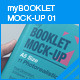 myBooklet Mock-up 01 - GraphicRiver Item for Sale