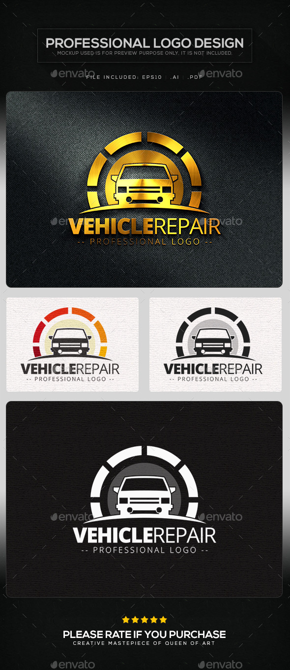 Motor Vehicle Repair Flyers