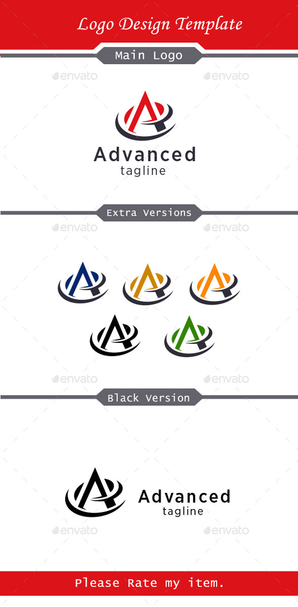 GraphicRiver Almonda Logo 10106389