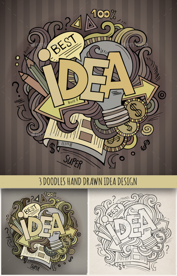 3 Idea Doodles Designs