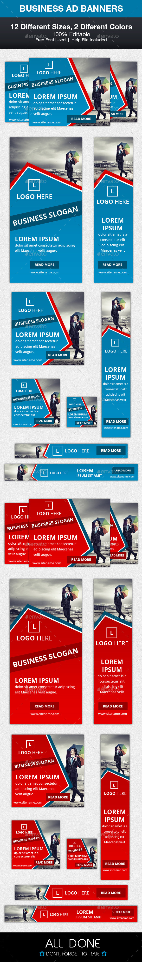 GraphicRiver Business Ad Banners 10106475