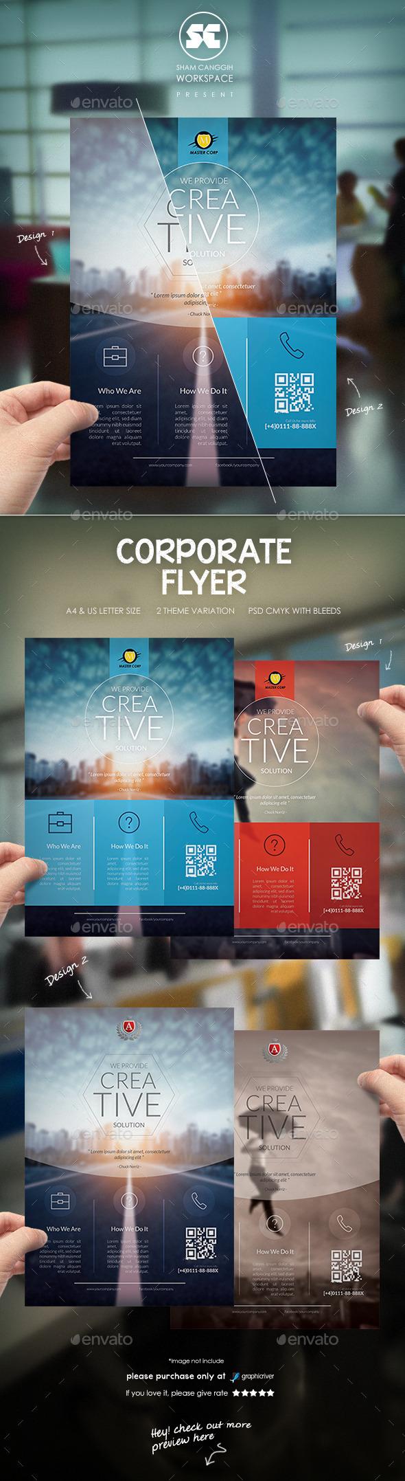 GraphicRiver Corporate Flyer 10106571