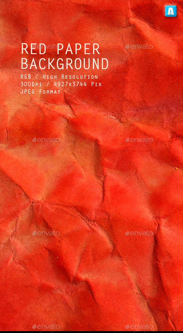 GraphicRiver Red Paper Texture 0040 10106648