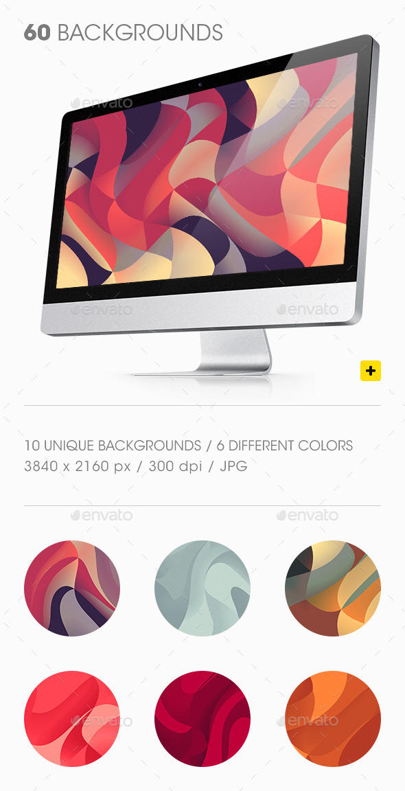 GraphicRiver Colorful Curves Backgrounds 10106875
