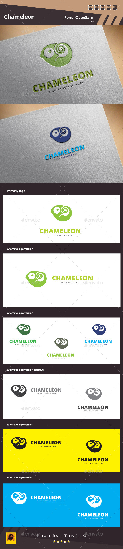 GraphicRiver Chameleon Logo Template 10106962