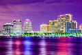 West Palm Beach Florida Skyline - PhotoDune Item for Sale