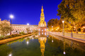 Spanish Square of Seville, Spain - PhotoDune Item for Sale