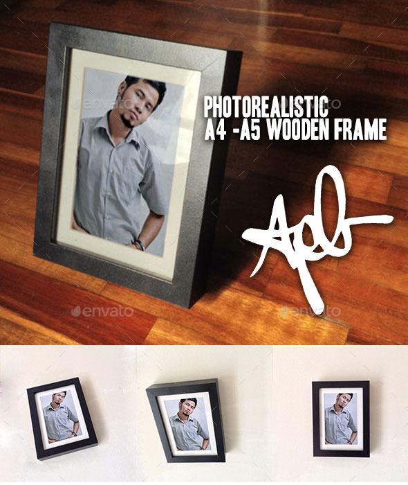 GraphicRiver Photorealistic Picture Frame 10059386