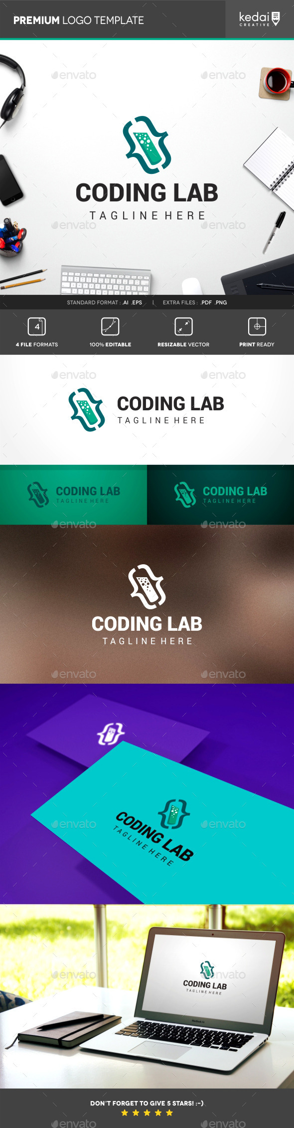 GraphicRiver Coding Lab 10107196