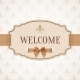 Welcome Retro Banner - GraphicRiver Item for Sale
