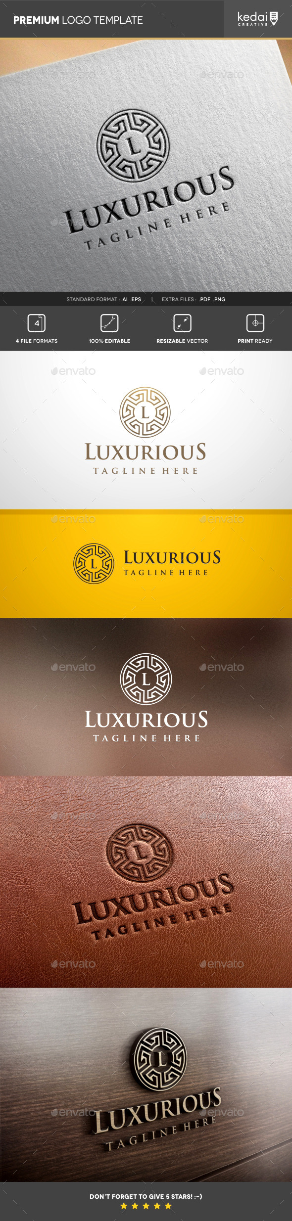 GraphicRiver Luxurious 10107406