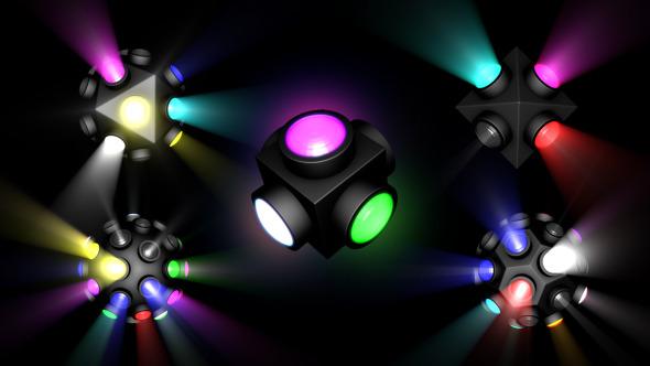 VideoHive VJ Lighting System Kit 10107407