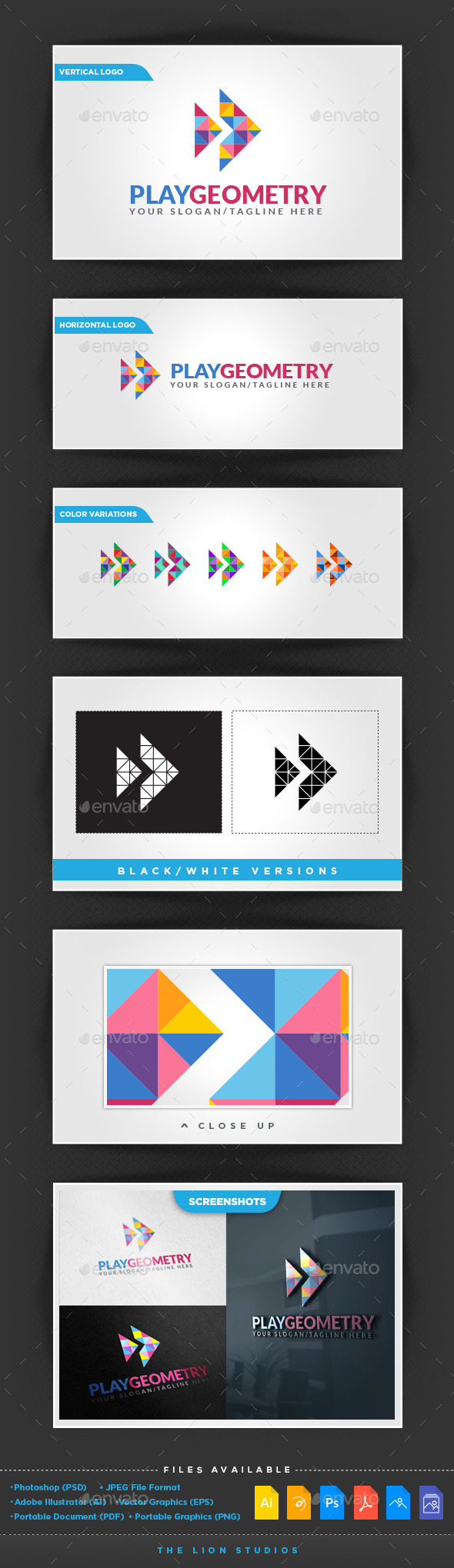 GraphicRiver Play Geometry 10107591