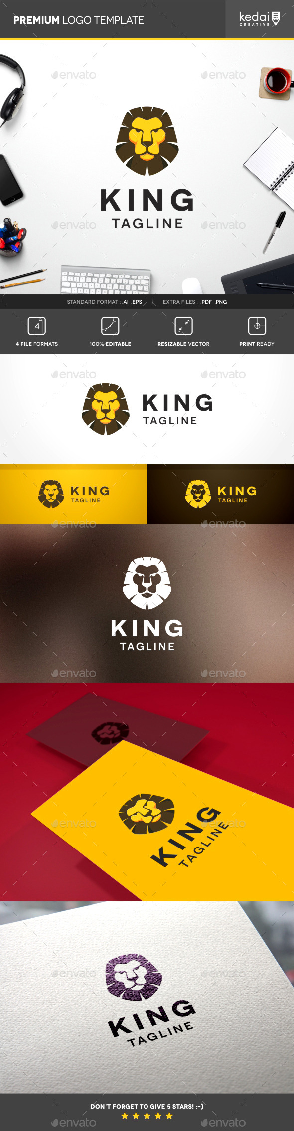 GraphicRiver Lion King 10107710