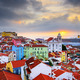 Lisbon, Portugal Skyline at Alfama - PhotoDune Item for Sale