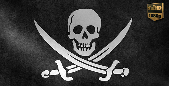 VideoHive Pirate Flag 10108064