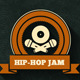 Very Vintage Hip-Hop Jam Flyer and Cover - GraphicRiver Item for Sale