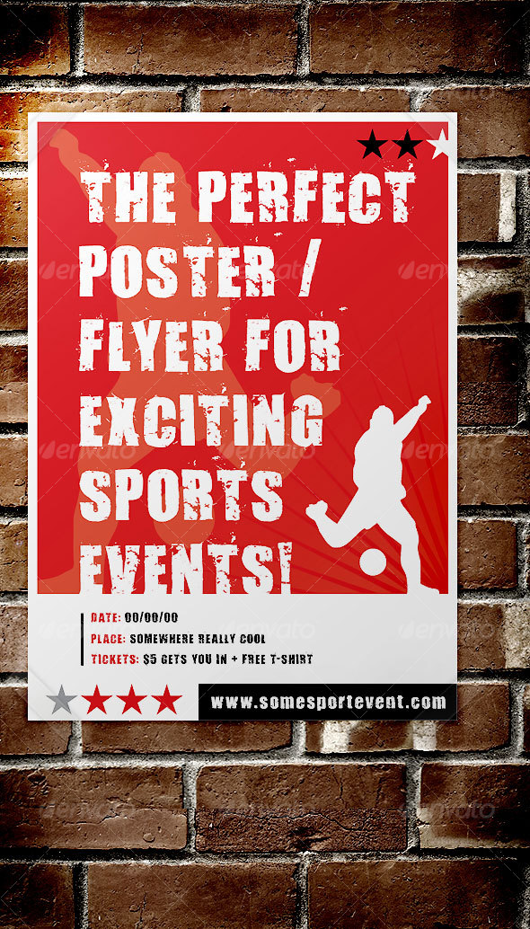 Sport Event Poster / Flyer - Sports Events