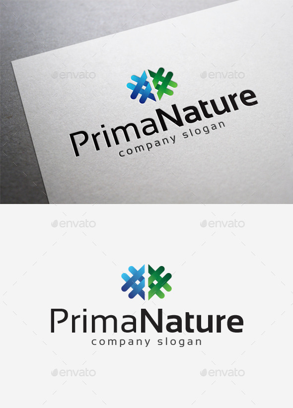 GraphicRiver Prima Nature Logo 10108381