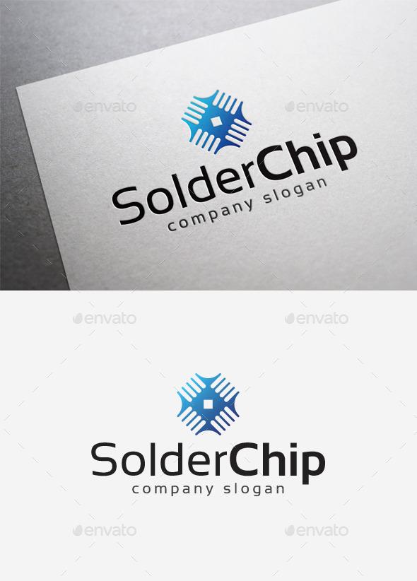 GraphicRiver Solder Chip Logo 10108421