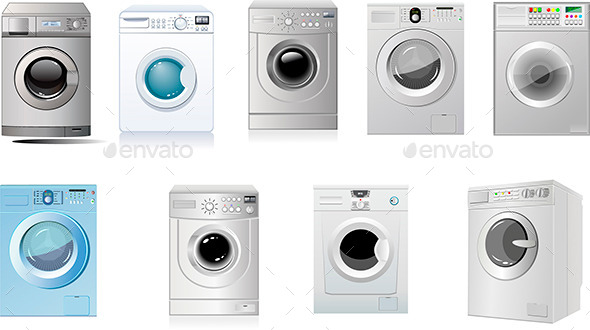 GraphicRiver Washing Machines 10108426