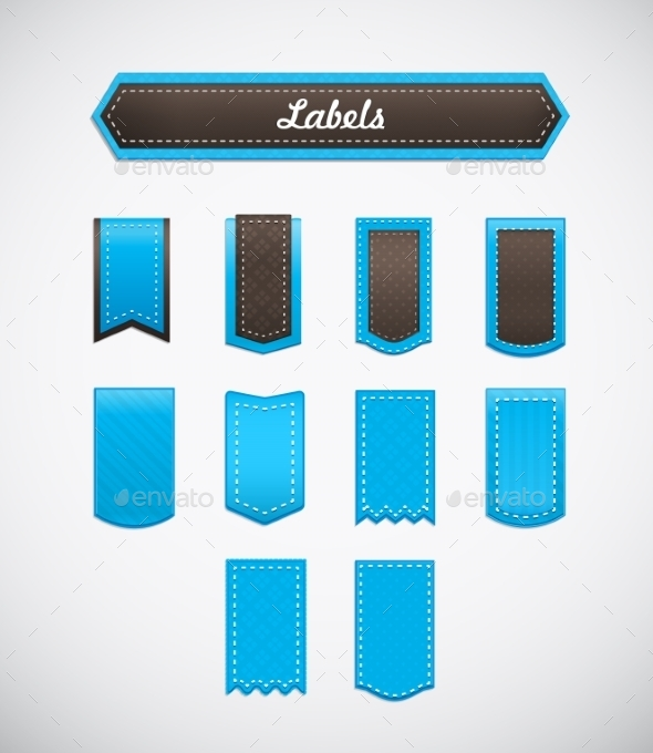 GraphicRiver Different Labels 10108458