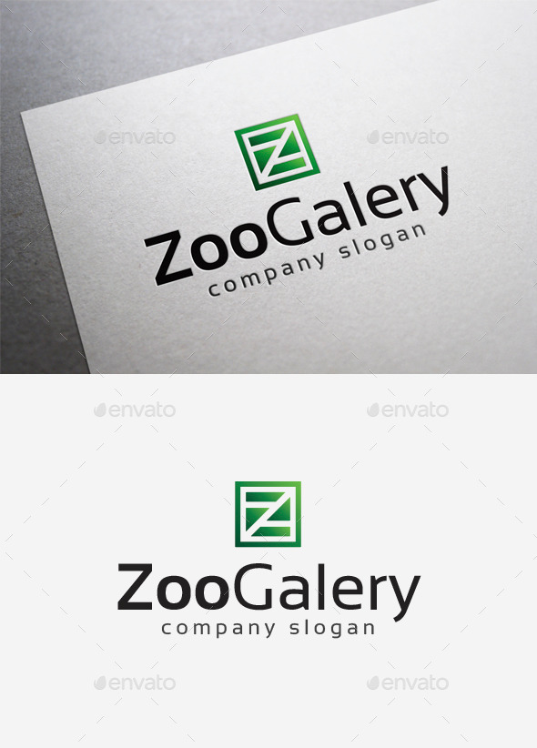 GraphicRiver Zoo Galery Logo 10108501