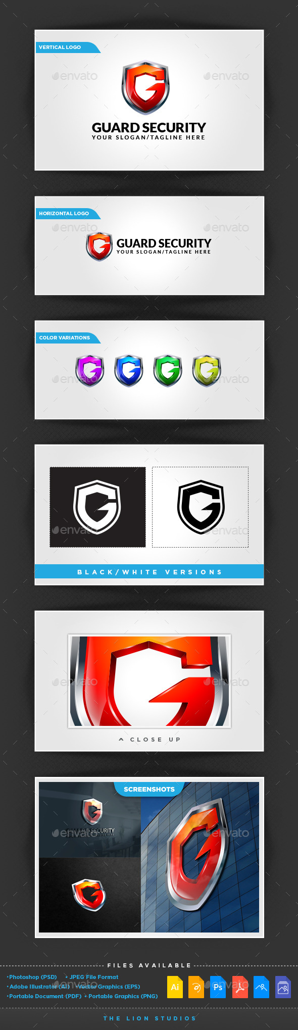 GraphicRiver Guard Security 10079746