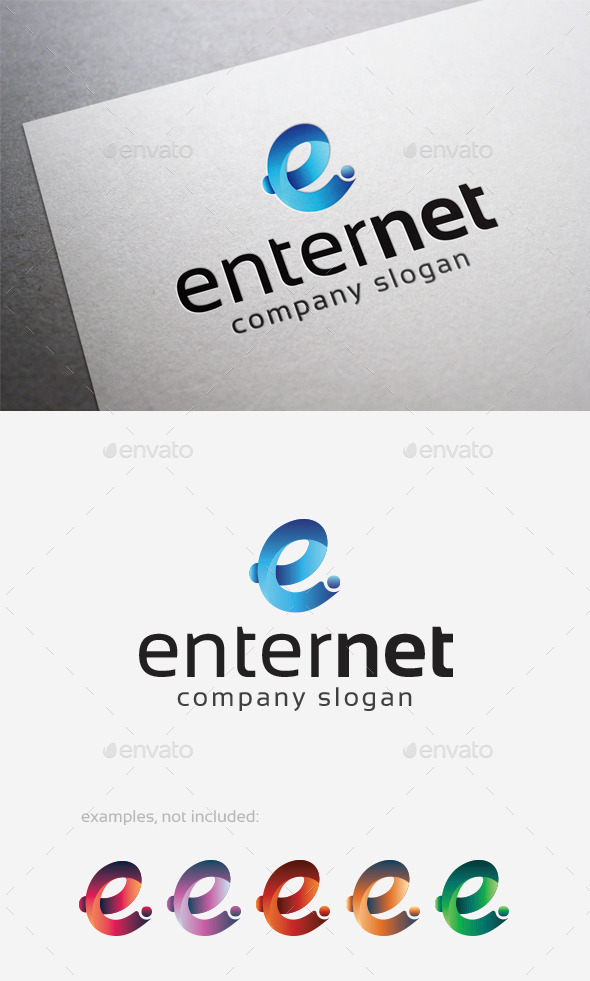 GraphicRiver Enter Net Logo 10108530