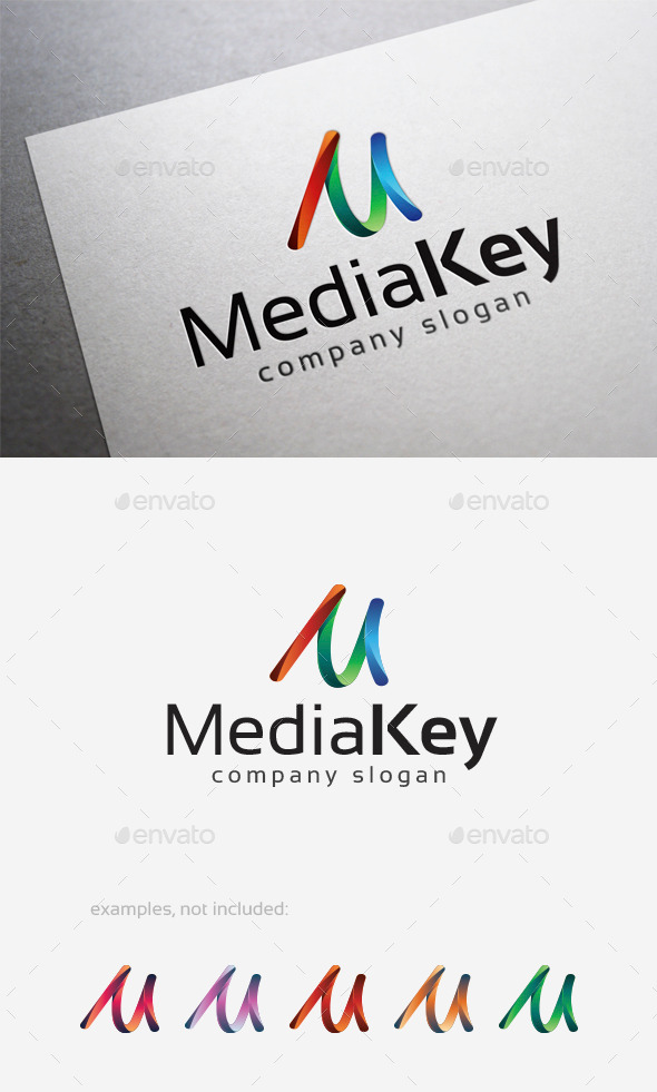 GraphicRiver Media Key Logo 10108613
