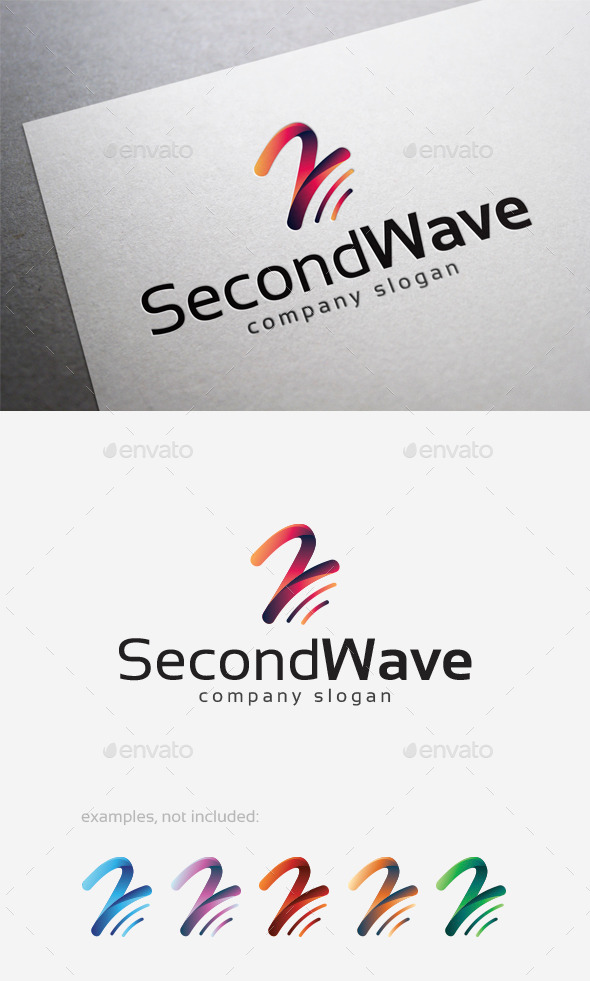 GraphicRiver Second Wave Logo 10108694