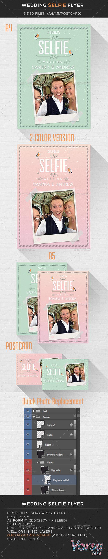 GraphicRiver Wedding Selfie Flyer 10108774
