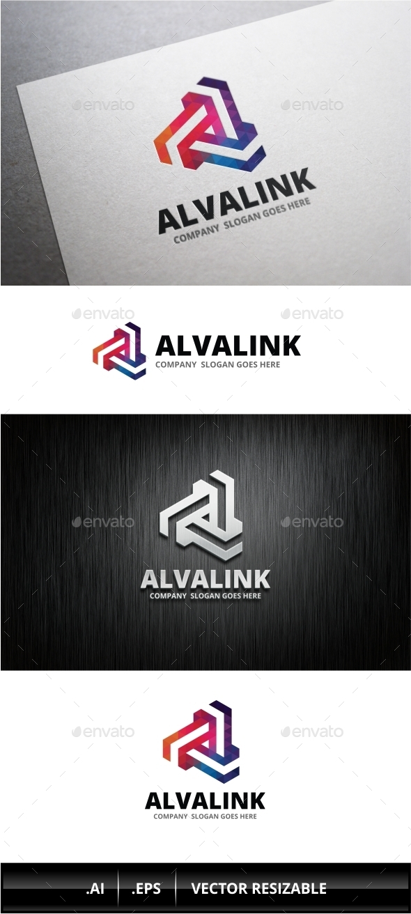 GraphicRiver Abstract A Letter Logo 10108816