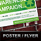 Green Awareness Campaign Poster / Flyer - GraphicRiver Item for Sale