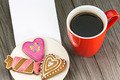 Cup of coffee and cookies on the table - PhotoDune Item for Sale