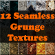 12 Various Seamless Grunge Textures - GraphicRiver Item for Sale