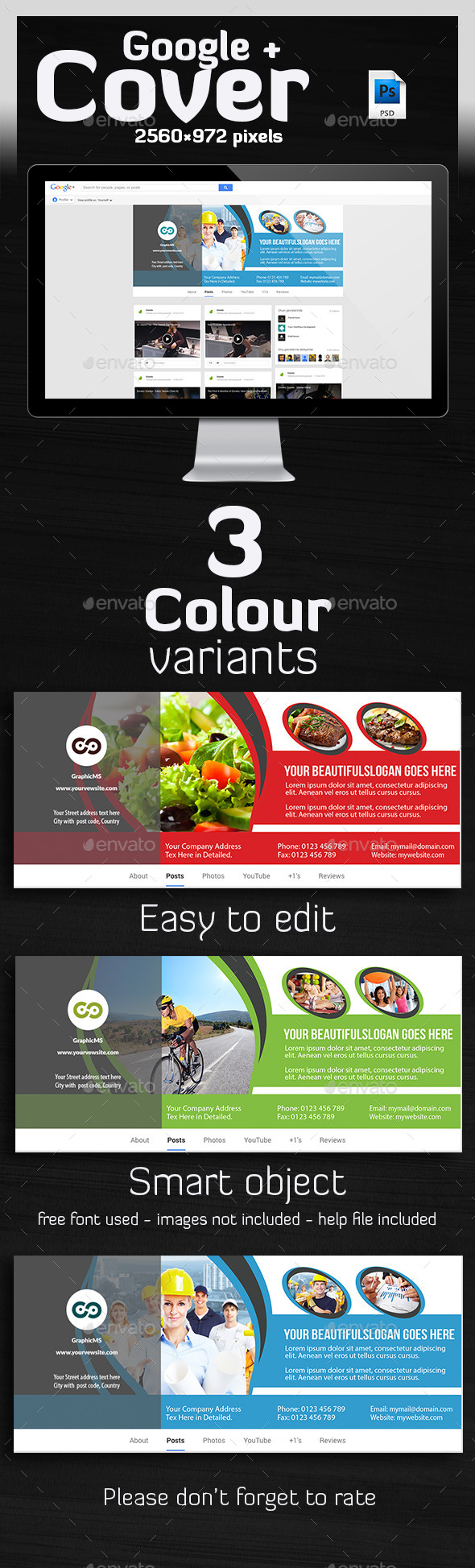 GraphicRiver Multipurpose Google Plus Cover 10109712