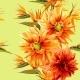 Seamless Strelitzia and Dahlia Flowers - GraphicRiver Item for Sale