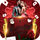 Valentine Affair Flyer Template - GraphicRiver Item for Sale