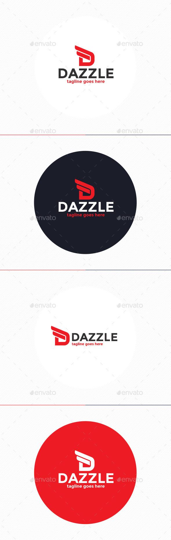 GraphicRiver Dazzle Logo Letter D 10110191