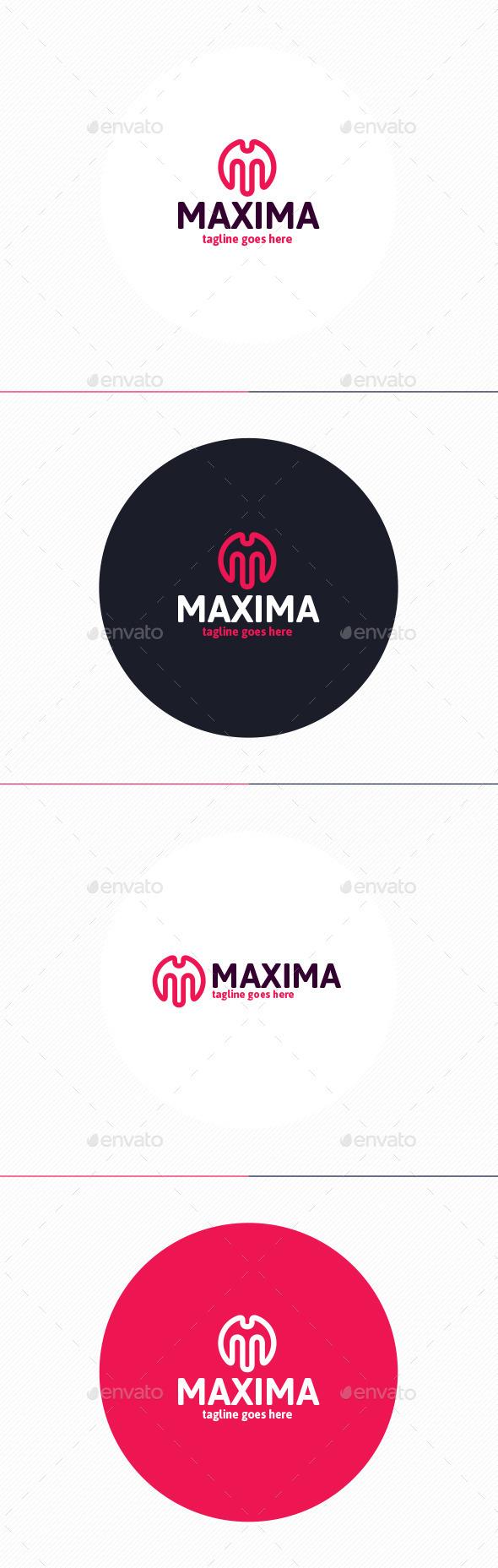 GraphicRiver Maxima Logo Letter M 10110348