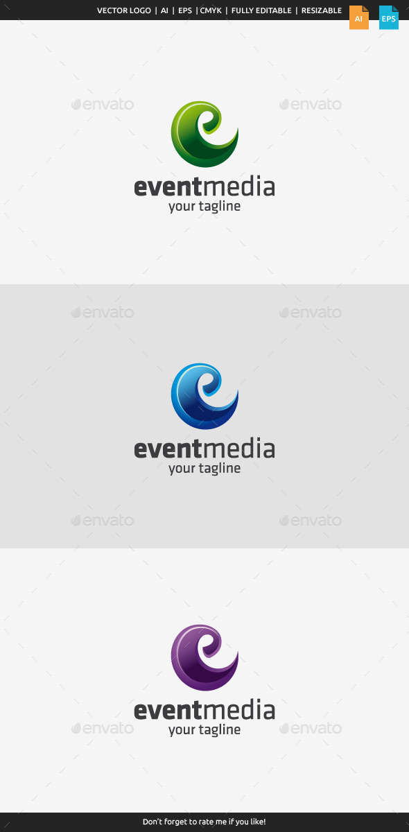 GraphicRiver Event Media Letter E 10110463