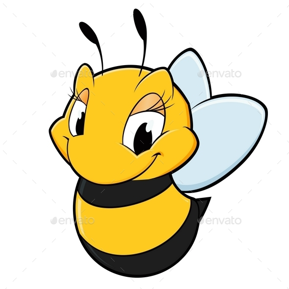 GraphicRiver Cartoon Bee 10110552