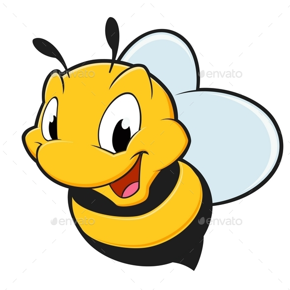 GraphicRiver Cartoon Bee 10110553