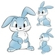 Cartoon Rabbit Bunny  - GraphicRiver Item for Sale