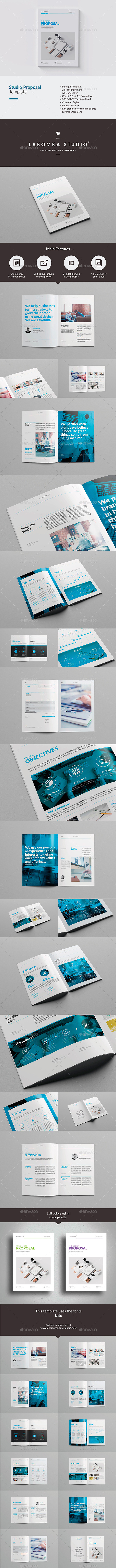 GraphicRiver Studio Proposal Template 2.0 10100891