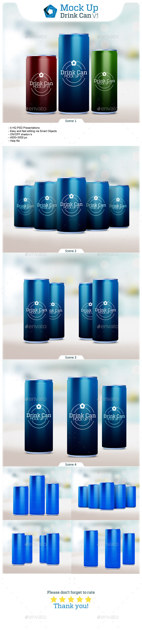 GraphicRiver Drink Can V.1 10111080