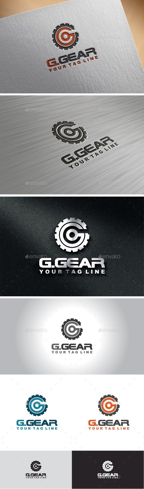 GraphicRiver Gear Letter G Logo 10111136