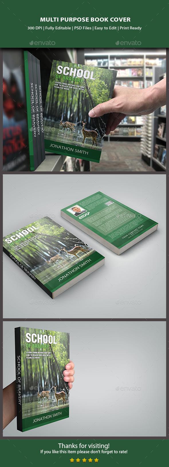 GraphicRiver Multipurpose Book Cover 10111228