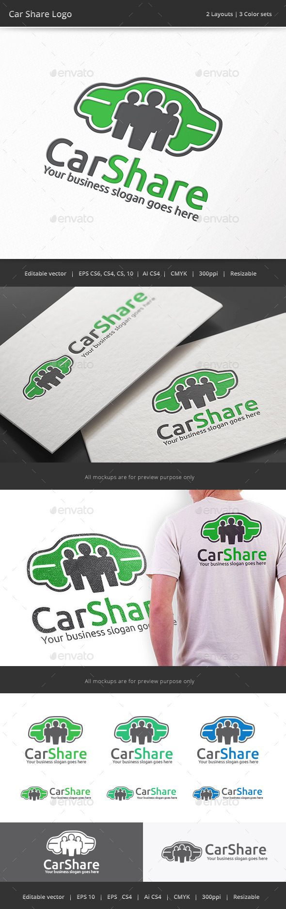 Car Share Logo